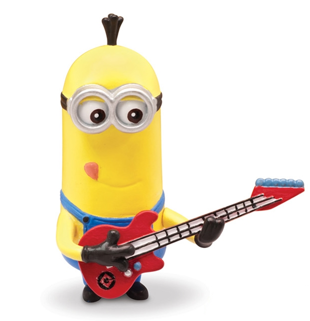 Moi moche mechant 2 minion rock star mini figurine 5 cm thinkway toys tht25078d - Mechant minion ...