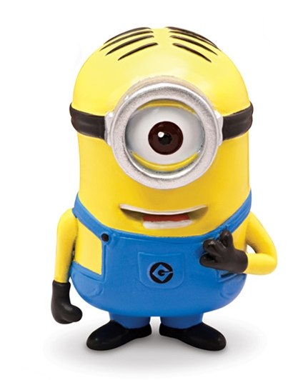 Moi moche mechant 2 minion stuart mini figurine 5 cm thinkway toys tht25078f - Mechant minion ...