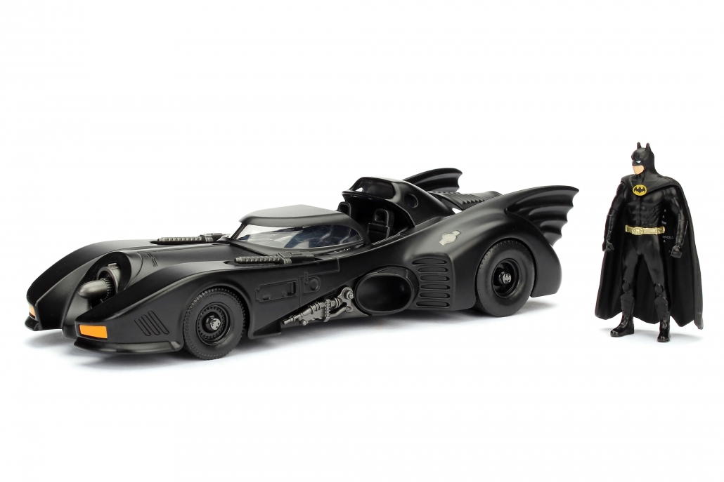 1989 Batmobile /& Batman Personnage Movie Figure 1:24 Jada Toys 98260