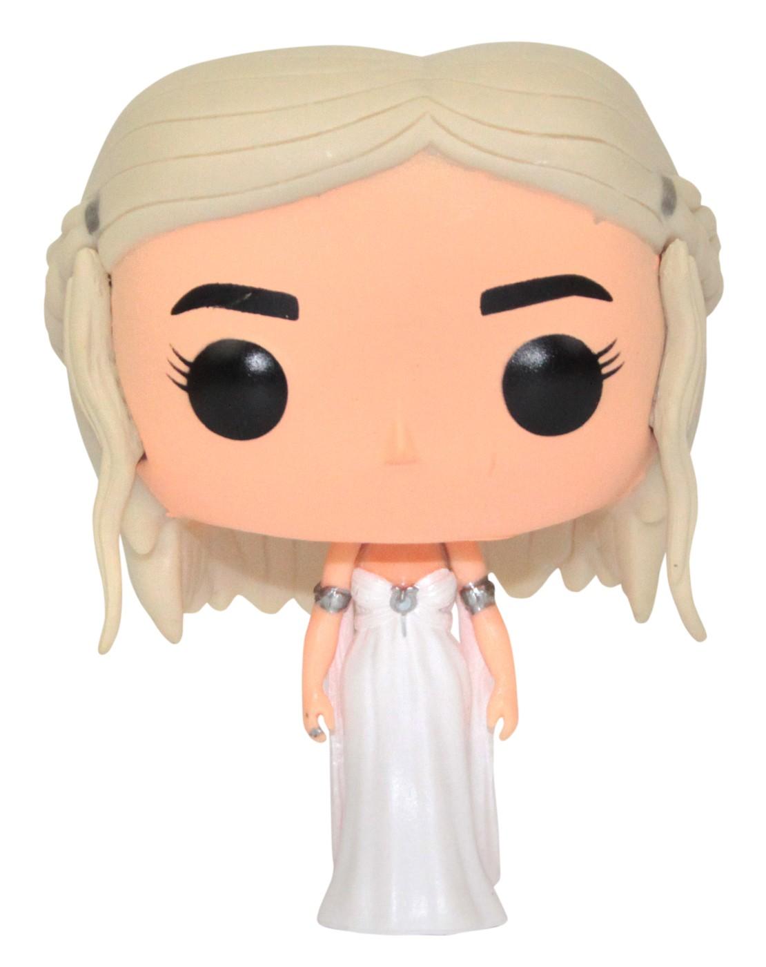 Game Of Thrones Daenerys Targaryen In Wedding Gown Pop