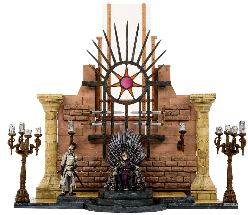 Game Of Thrones Throne Room Mcfarlane