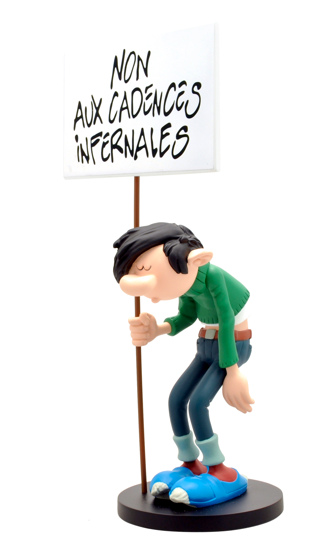 figurine gaston lagaffe