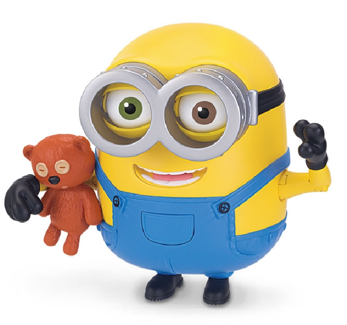 les minions bob with teddy bear  figurine articulée 12
