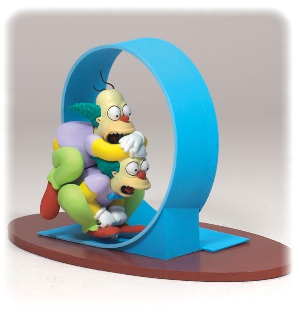 Les simpson clown homer homer krusty figurines 12 cm mcfarlane mcf12752 - Simpson le clown ...
