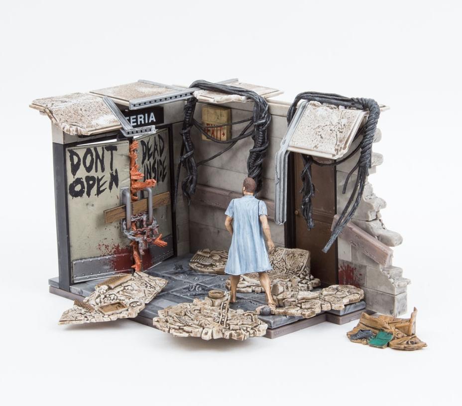 Exclusive endommagé Carte McFarlane Toys The Walking Dead série 7 Hershel Greene