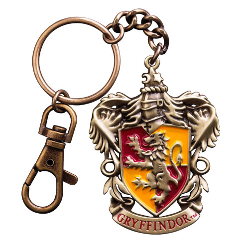 Harry potter blason gryffondor porte cl s metal 6 cm noble collection nob7673 - Harry potter blason ...