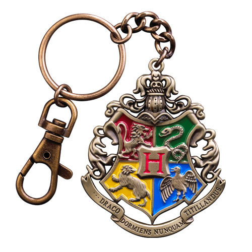 Harry potter blason poudlard porte cl s metal 6 cm noble collection nob7681 - Harry potter blason ...